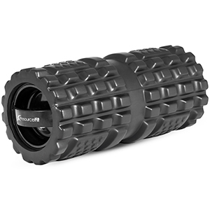 Gray ProsourceFit vibrating foam roller from Walmart photo