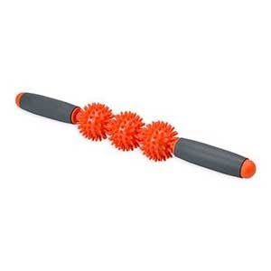 Gray and orange pressure point massager from Walmart photo