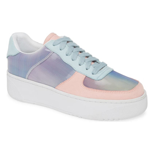 Pastel platform sneakers by Jeffery Campbell from Nordstrom photo