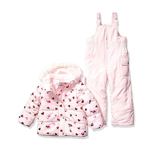 Carter's Girls' Heavyweight Two-Piece Ski Suit photo
