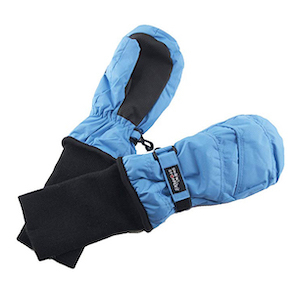 SnowStoppers Kids Waterproof Stay On Winter Nylon Mittens photo