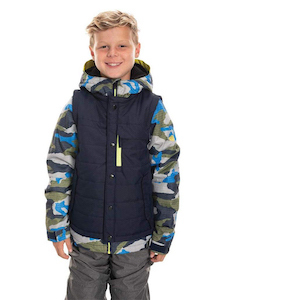 686 Boy's Scout Insulated Waterproof Ski/Snowboard Winter Coat photo