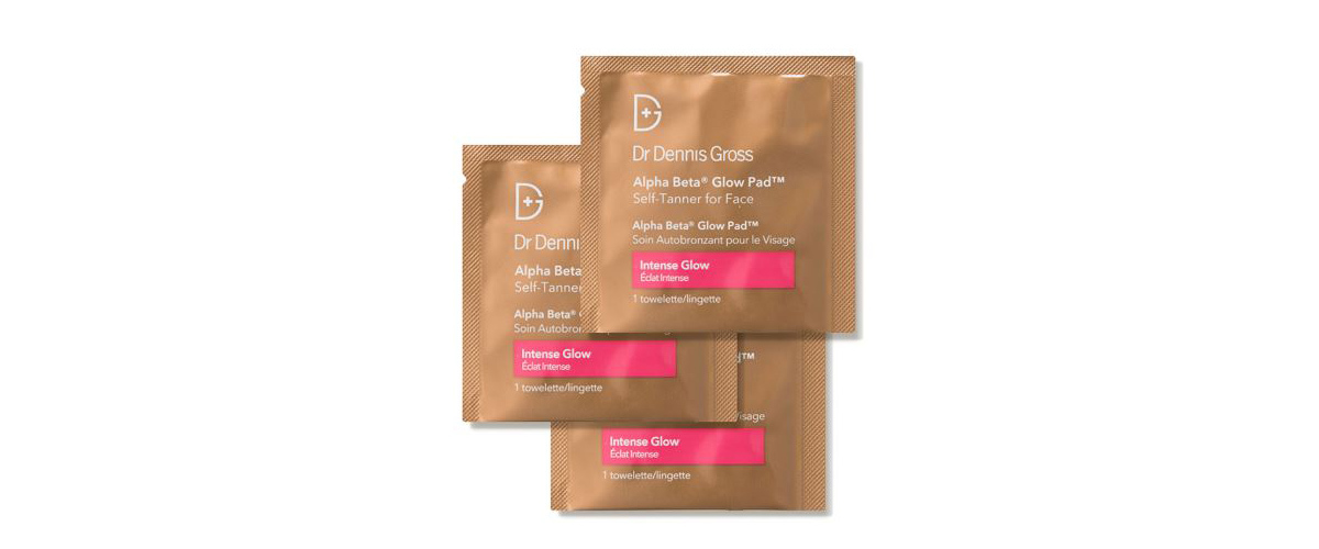 Alpha Beta Glow Pad self tanner for face from Dermstore photo