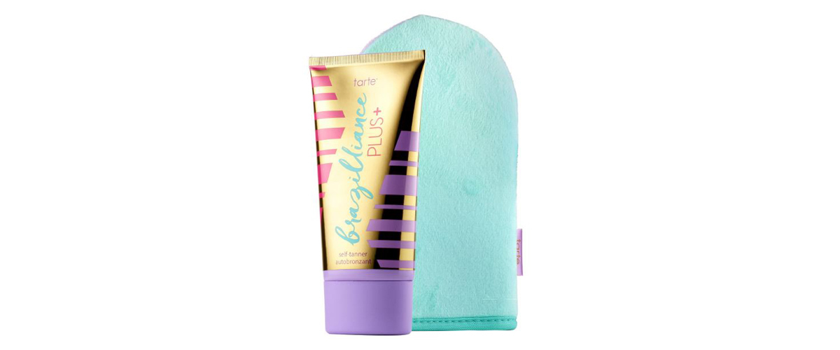 Tarte self tanner with application mitt from Sephora photo