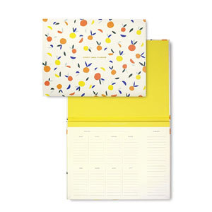 Kate Spade New York Weekly Meal Planner with Grocery List photo