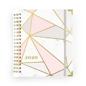 Indeme marbled 2020 weekly and monthly planner photo