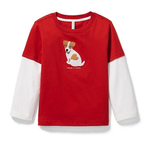 Janie and Jack Boys' Puppy Love Tee photo