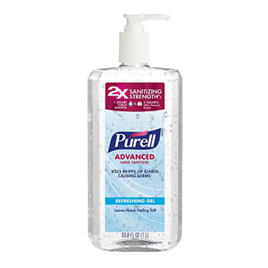 Bottle of Purell hand sanitizer from Walgreens photo