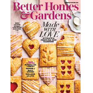 Cover of February Issue of Better Homes & Gardens Magazine photo