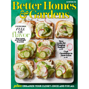 Cover of the May 2019 issue of Better Homes & Gardens magazine photo