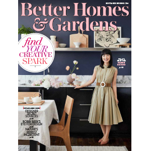 September cover of Better Homes & Gardens Magazine featuring a photo of Marie Kondo photo
