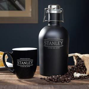 Stanford Personalized 2 Piece Carafe Set from Wayfair photo