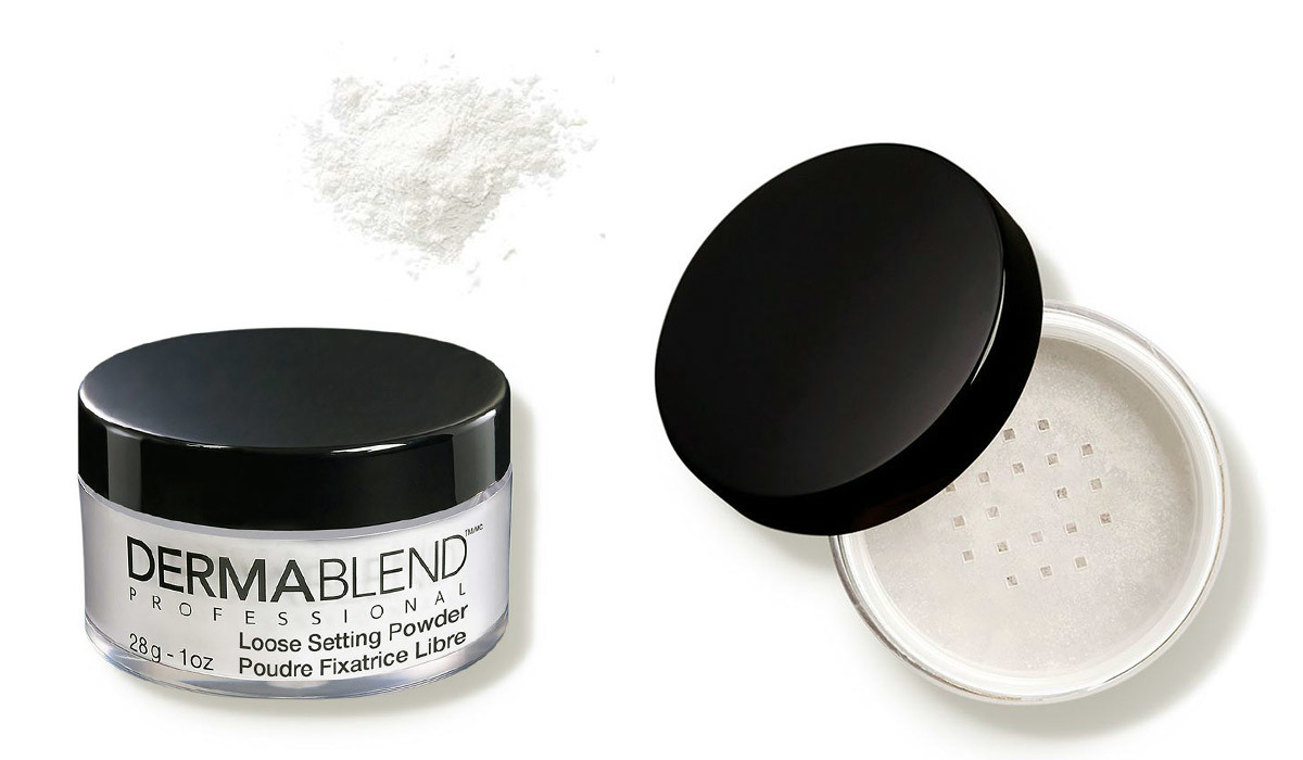 Compact with white setting powder from Dermstore photo