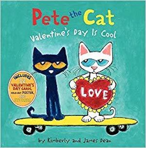 Pete the Cat: Valentine's Day Is Cool by James Dean photo