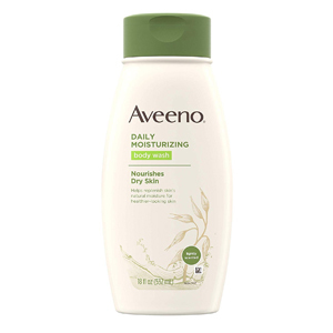 Aveeno body wash with soothing oat from Amazon photo