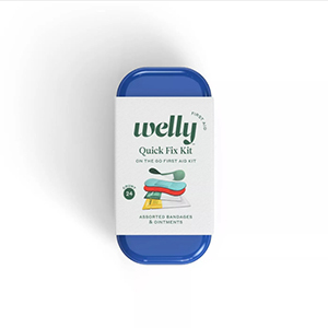 Blue Welly first aid kit tin from Target photo