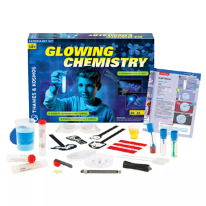 Thames & Kosmos Glowing Chemistry Experiment Kit from Target photo