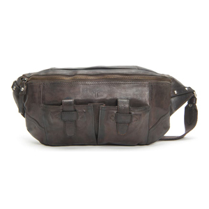 Frye leather sling pack in carbon color from Nordstrom photo