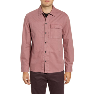 French Connection cotton shirt jacket from Nordstrom photo