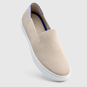 Rothy's sneaker in the color Sand photo