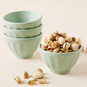 Anthropologie latte bowls with retro design from Nordstrom photo