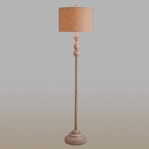 Toasted almond floor lamp from Cost Plus World Market photo
