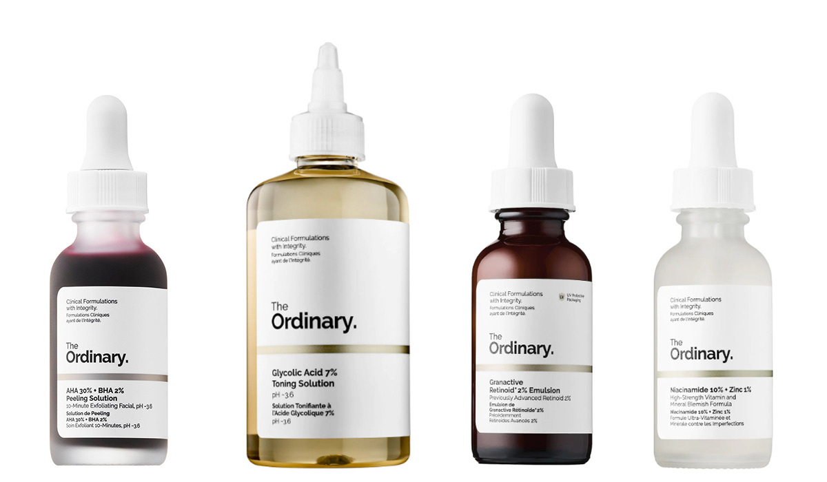 The Ordinary skincare products from Sephora photo