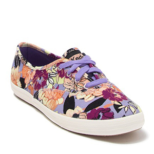 Multicolored floral patterned Keds sneakers from Nordstrom Rack photo