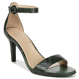Snakeskin-embossed heel with a strap from Nordstrom photo