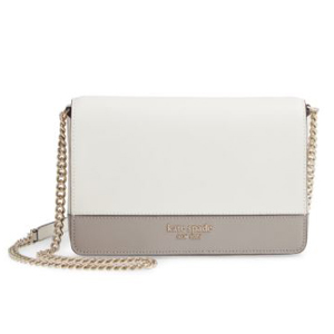 White and gray Kate Spade crossbody bag in Nordstrom photo