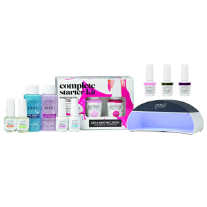 gel manicure nail kit with nail polish and led light from Amazon photo