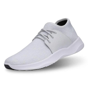 Gray waterproof running shoes from Vessi photo