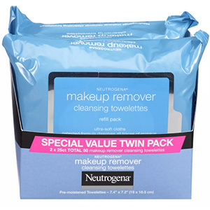 Twin pack of Neutrogena face wipes from Walmart photo