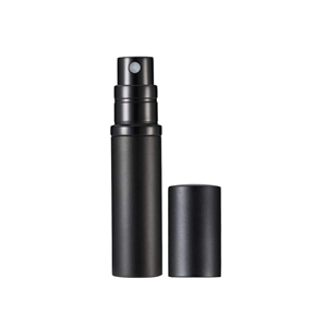 Refillable perfume bottle in black from Amazon photo