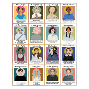 Mighty Women in History Poster Print from Etsy photo