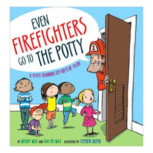 Even Firefighters Go to the Potty Book from Barnes & Noble photo