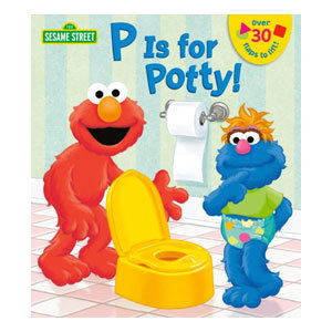 P is for Potty! Book from Barnes and Noble photo