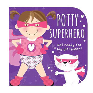 Potty Superhero: Get Ready for Big Girl Pants Book from Target photo