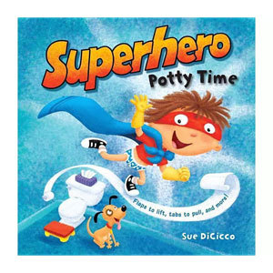 Superhero Potty Time Book from Barnes & Noble photo