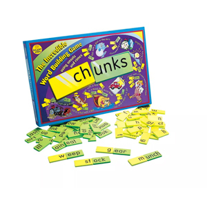 Chunks word building game from Target photo