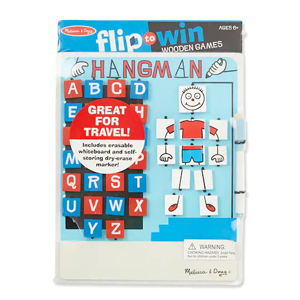 Flip to Win Hangman game from Michaels photo