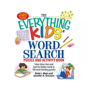 The Everything Kids' Word Search Puzzle and Activity Book from Target photo