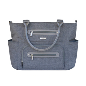 Blue tote baby bag from Kohls. photo