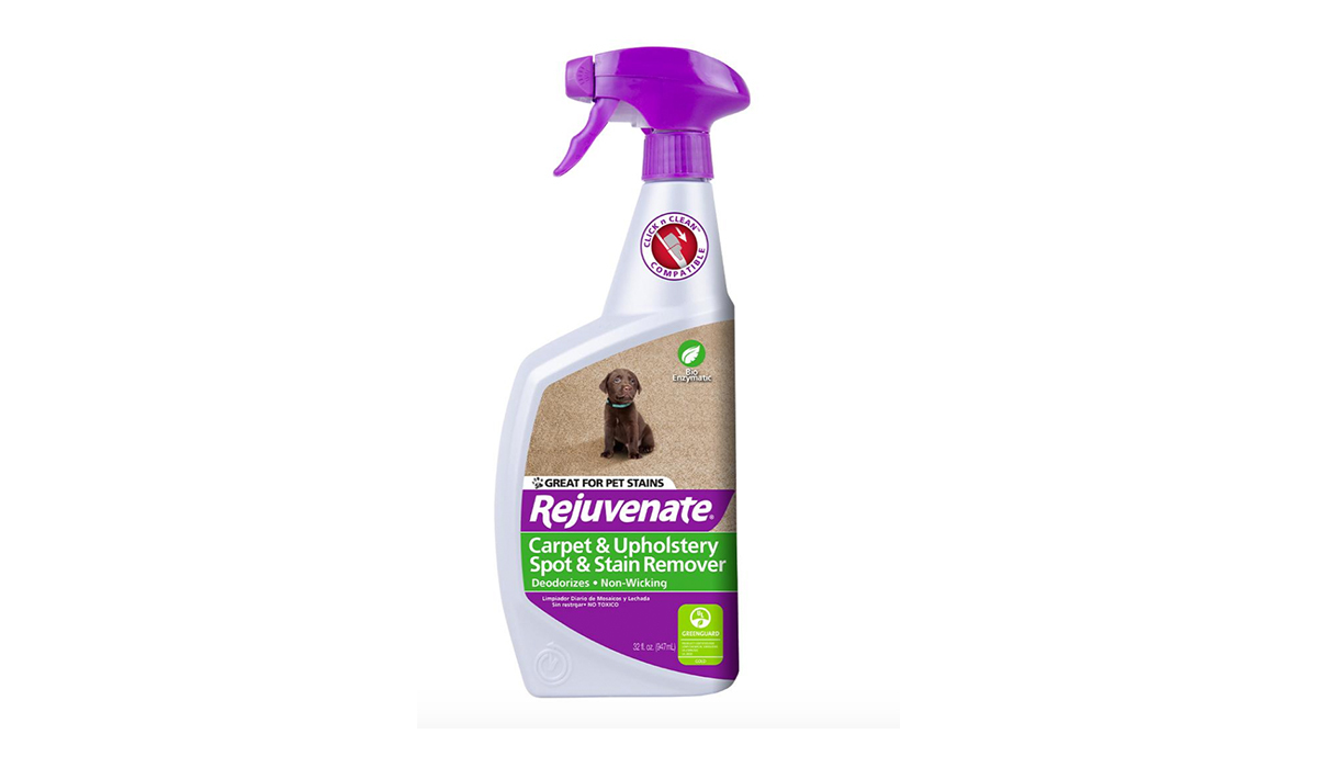 Rejuvenate Carpet and Upholstery Spot and Stain Remover from The Home Depot photo