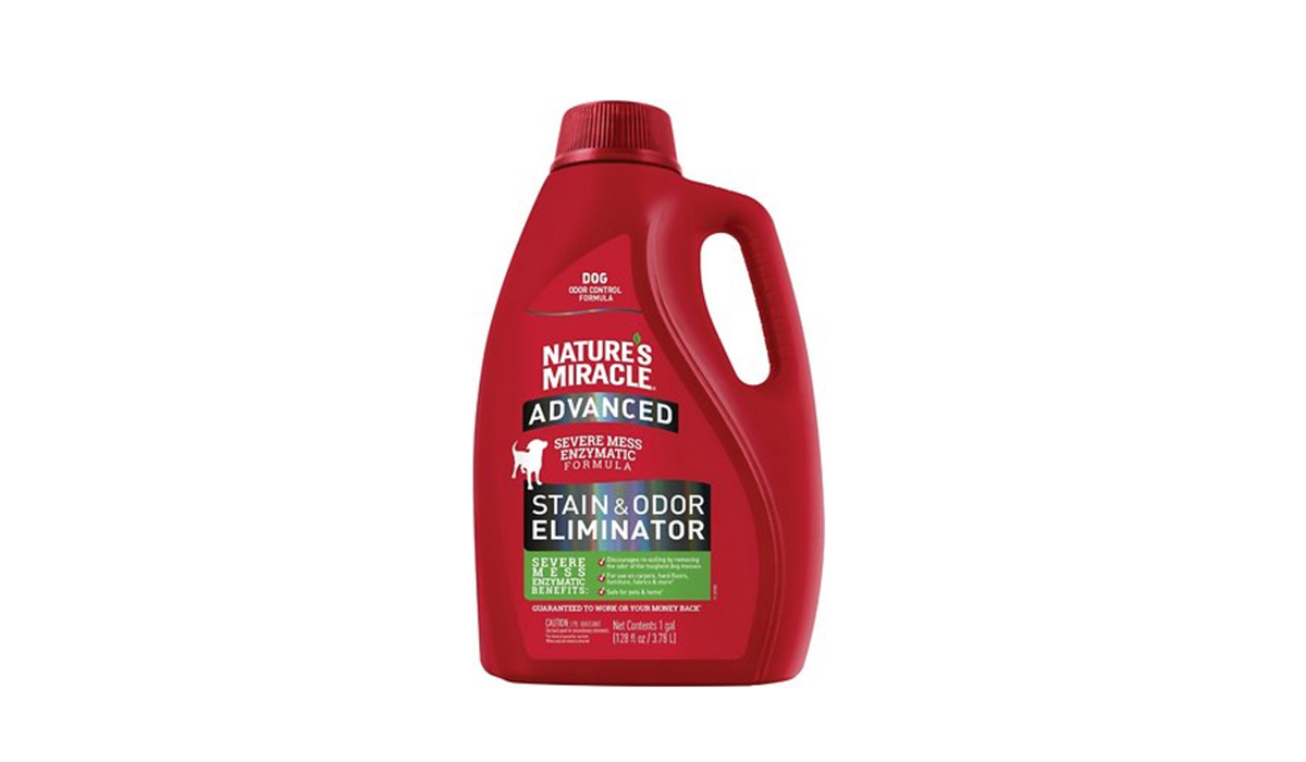 Nature's Miracle Advanced Dog Enzymatic Severe Mess Stain & Odor Eliminator from Chewy photo