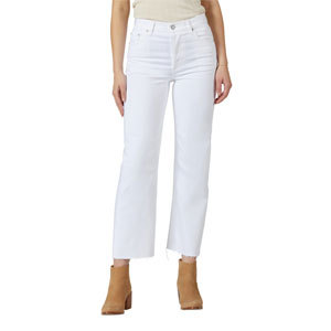White straight-leg jeans from Nordstrom photo