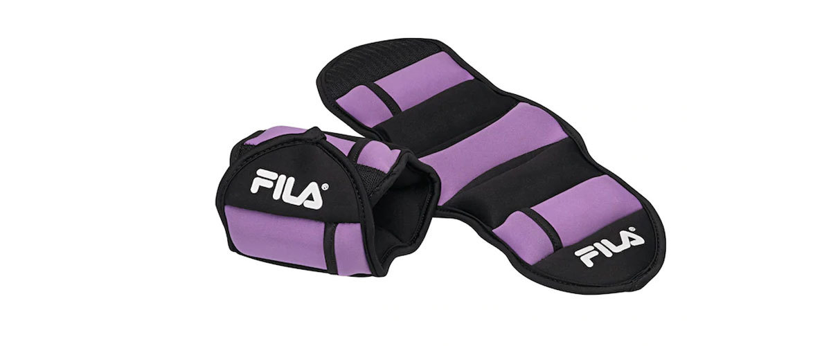 Fila ankle weights with 2.5 pounds from Kohl's photo