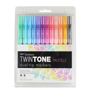 TwinTone dual-tip marker set from Michaels photo