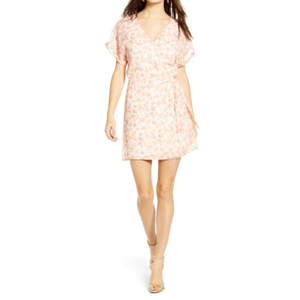 Floral wrap dress from Nordstrom photo