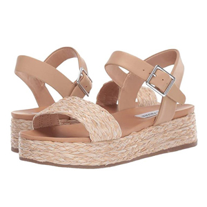 Woven platform sandals from Zappos photo